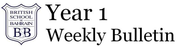 Year 1 Bulletin